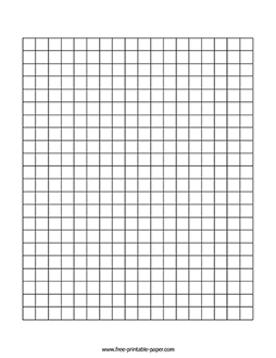 Centimeter Graph Paper – Free Printable Paper