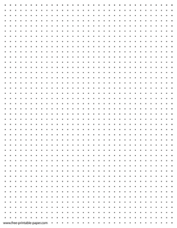 picture relating to Printable Dot Grid referred to as Printable Dot Paper Quarter Inch Dotted Grid Paper Totally free