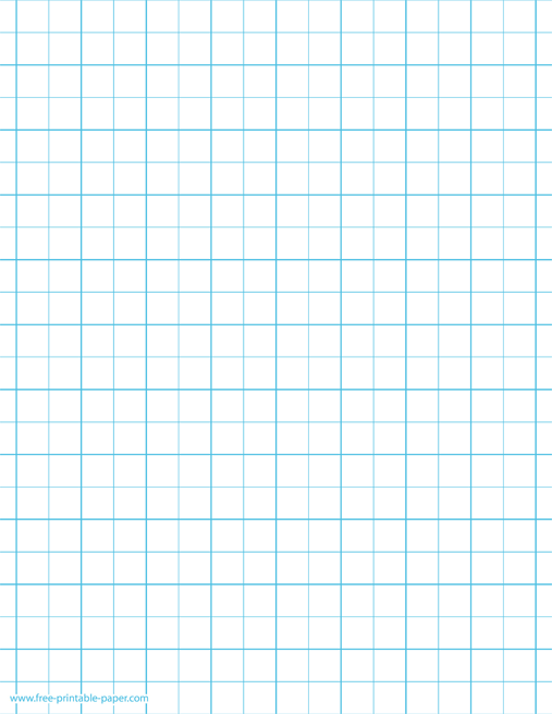 photo about Printable Wide Ruled Paper titled Printable Graph Paper 2 Squares For every Inch 2×2 Graph Dominated