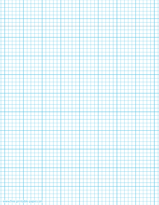 image relating to Square Printable named Printable Graph Paper 5 Squares For each Inch 5×5 Graph Dominated