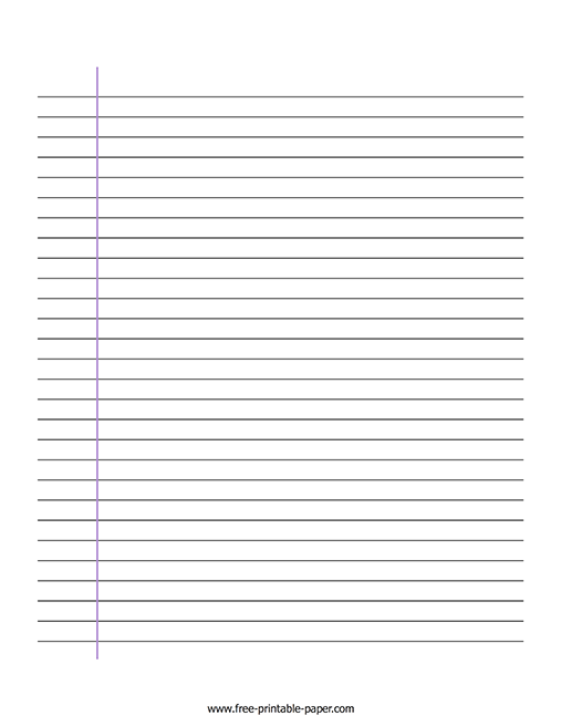 picture about Free Printable Lined Writing Paper identified as Covered Producing Paper Cost-free Printable Paper