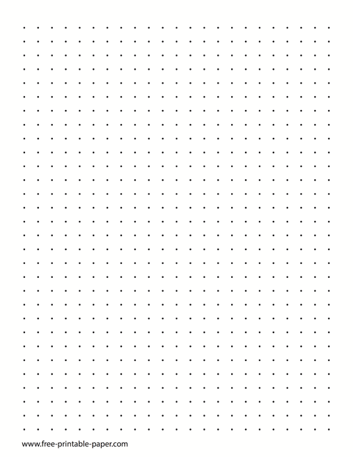 photo relating to Dot Grid Paper Printable identify Dot Paper Dotted Grid Paper 3 Dots For every Inch No cost