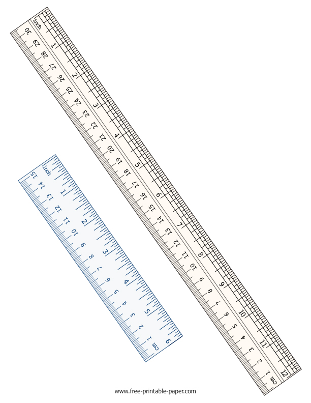 This is a photo of Simplicity Printable Ruler Inches and Centimeters