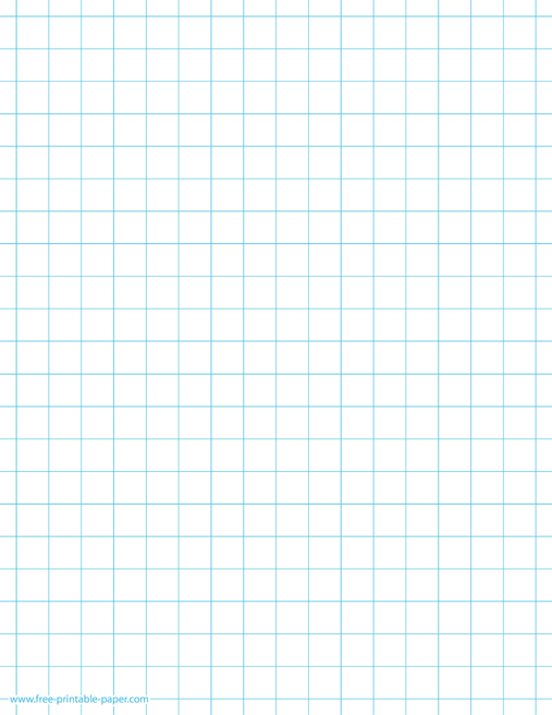 picture about Printable Square known as Printable Squared Paper 2 Squares For each Inch Absolutely free