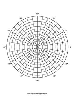 Polar Graph Paper – Free Printable Paper