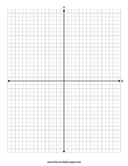 Printable Graph Paper With Axis – Free Printable Paper