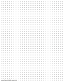 photo about Printable Dotted Paper referred to as Printable Dot Paper Dotted Grid Paper 2 Dots For every Inch